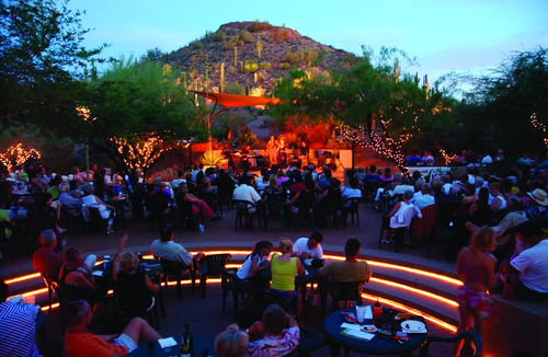 Every Friday Night Through The End Of June, The Desert Botanical Garden  Hosts An Exciting Outdoor Concert Featuring A Local Music Group.