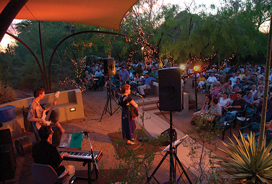 Music in the garden concerts desert botanical gardens north phoenix family magazine for Botanical gardens concert series