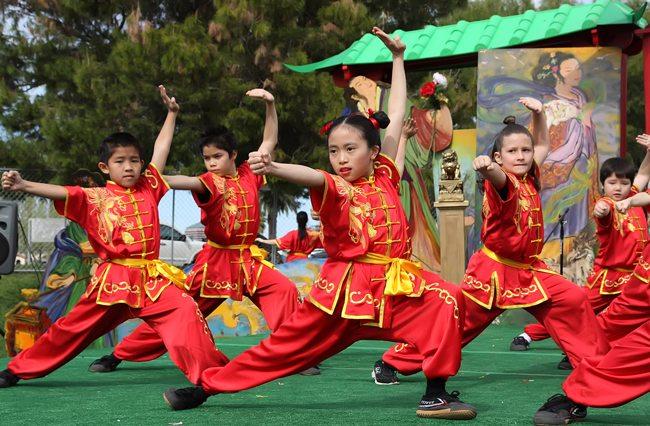 Asian festival phoenix