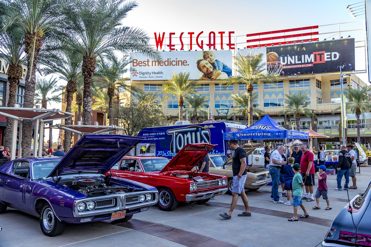Hot Rod Night At Westgate North Phoenix Family Magazine - Car show glendale az